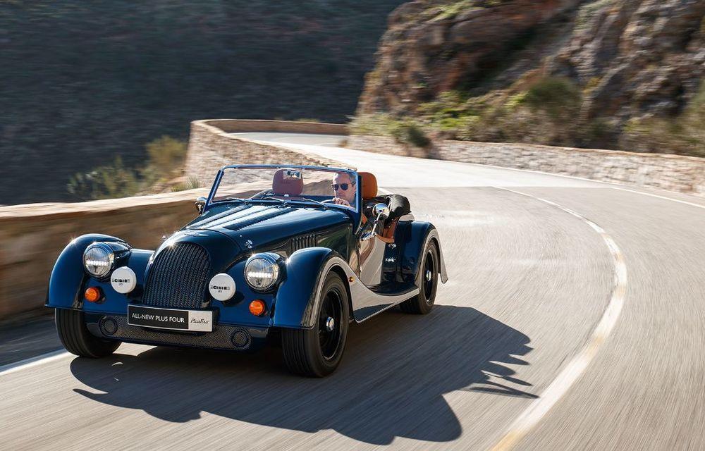 Constructorul de nișă Morgan a lansat noul Plus Four: arhitectură din aluminiu și motor turbo de 2.0 litri - Poza 8