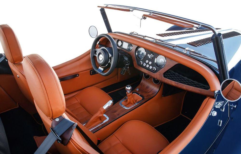 Constructorul de nișă Morgan a lansat noul Plus Four: arhitectură din aluminiu și motor turbo de 2.0 litri - Poza 10