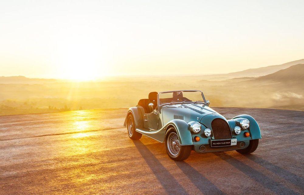 Constructorul de nișă Morgan a lansat noul Plus Four: arhitectură din aluminiu și motor turbo de 2.0 litri - Poza 2
