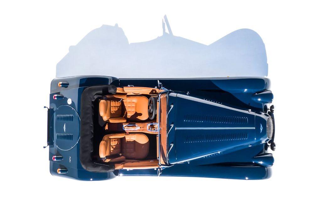 Constructorul de nișă Morgan a lansat noul Plus Four: arhitectură din aluminiu și motor turbo de 2.0 litri - Poza 9