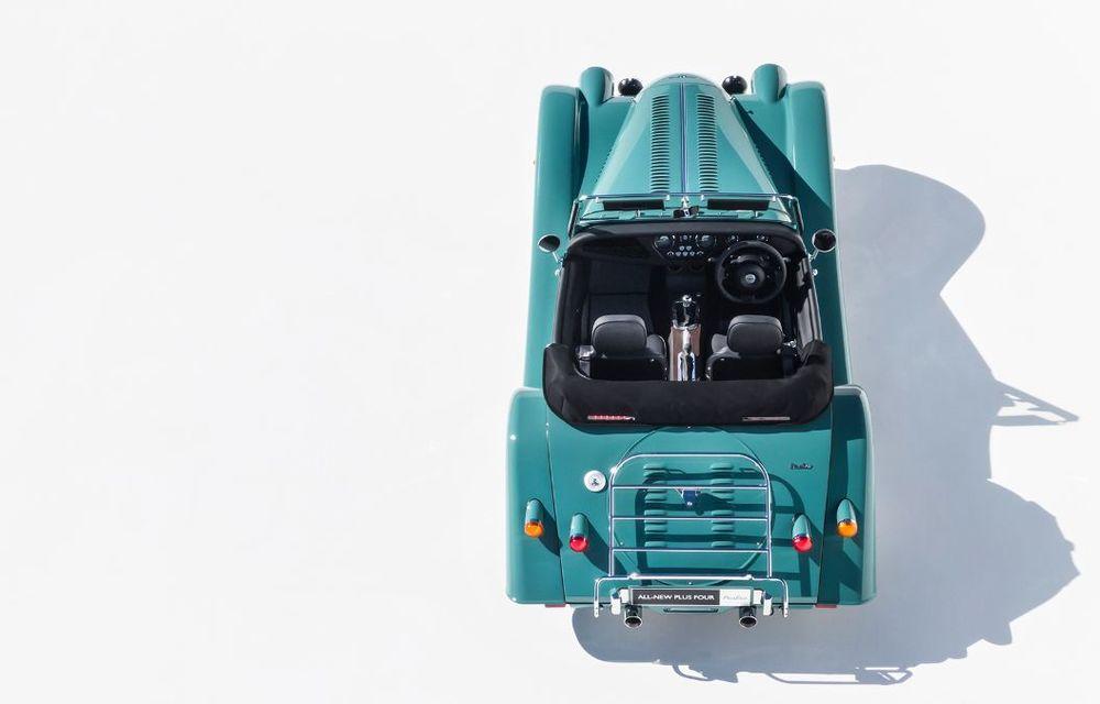 Constructorul de nișă Morgan a lansat noul Plus Four: arhitectură din aluminiu și motor turbo de 2.0 litri - Poza 4