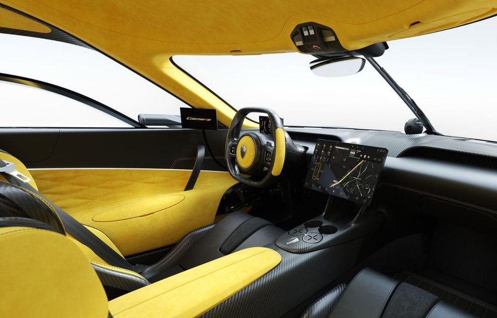 Aveți un minut să vorbim despre avioane? Koenigsegg Gemera este un hibrid cu patru locuri și 1.724 de cai putere - Poza 18