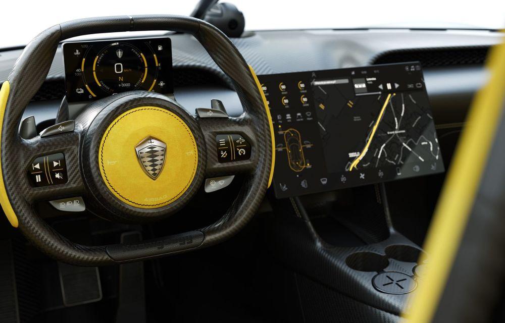 Aveți un minut să vorbim despre avioane? Koenigsegg Gemera este un hibrid cu patru locuri și 1.724 de cai putere - Poza 22