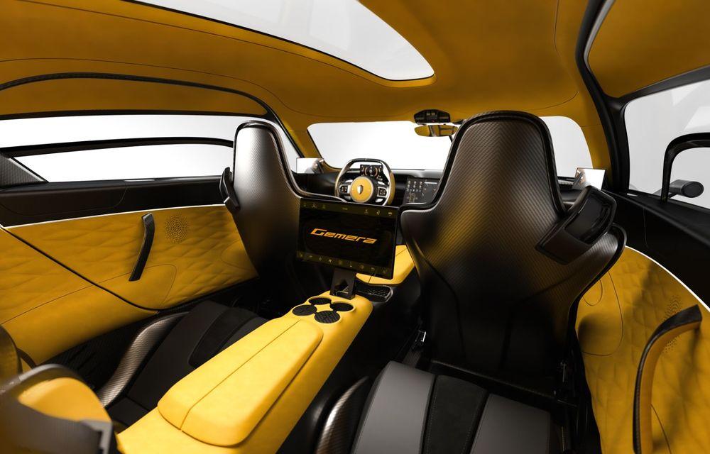 Aveți un minut să vorbim despre avioane? Koenigsegg Gemera este un hibrid cu patru locuri și 1.724 de cai putere - Poza 21