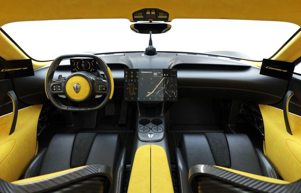 Aveți un minut să vorbim despre avioane? Koenigsegg Gemera este un hibrid cu patru locuri și 1.724 de cai putere - Poza 23