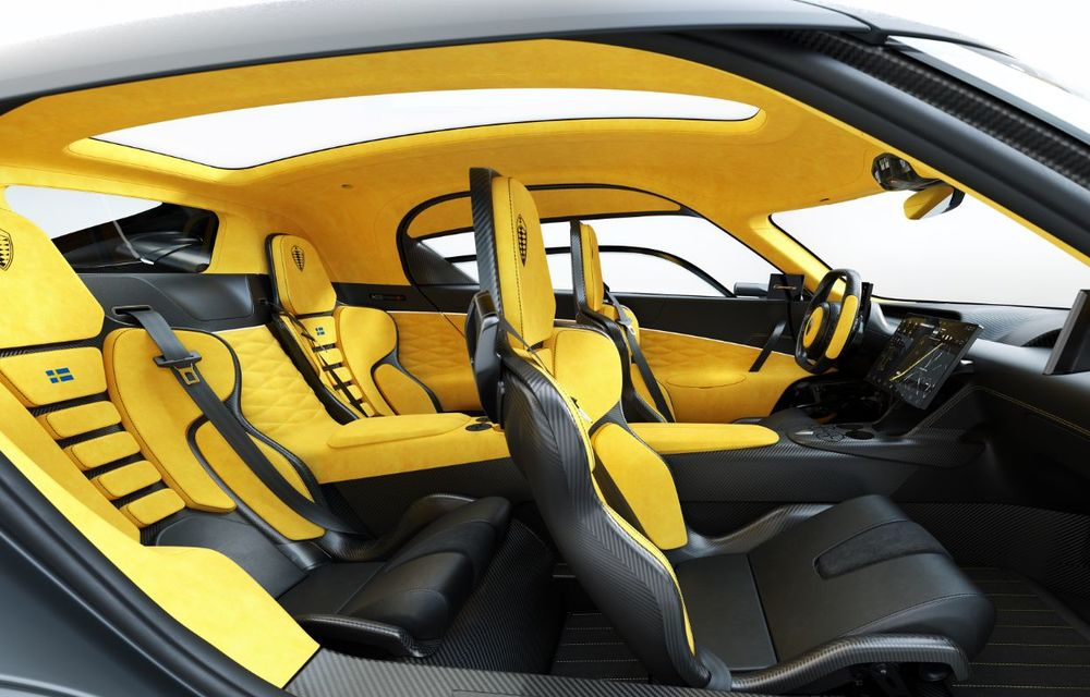 Aveți un minut să vorbim despre avioane? Koenigsegg Gemera este un hibrid cu patru locuri și 1.724 de cai putere - Poza 19