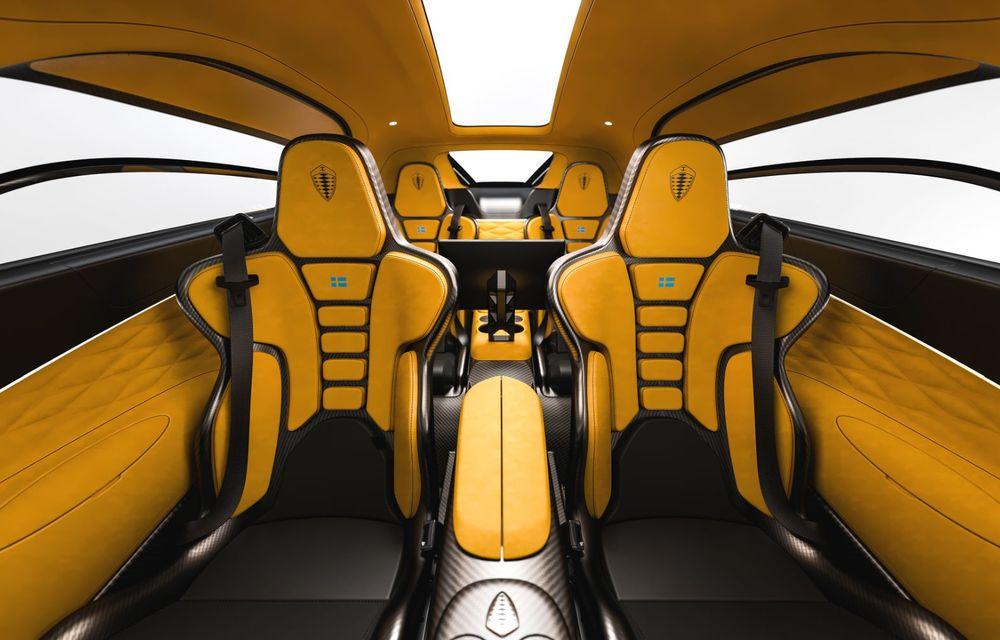 Aveți un minut să vorbim despre avioane? Koenigsegg Gemera este un hibrid cu patru locuri și 1.724 de cai putere - Poza 20