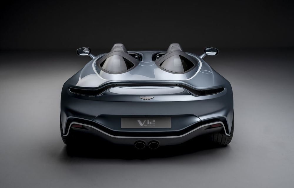 Aston Martin a prezentat ediția limitată V12 Speedster: modelul fără plafon și parbriz oferă 700 CP și va fi produs în doar 88 de unități - Poza 5