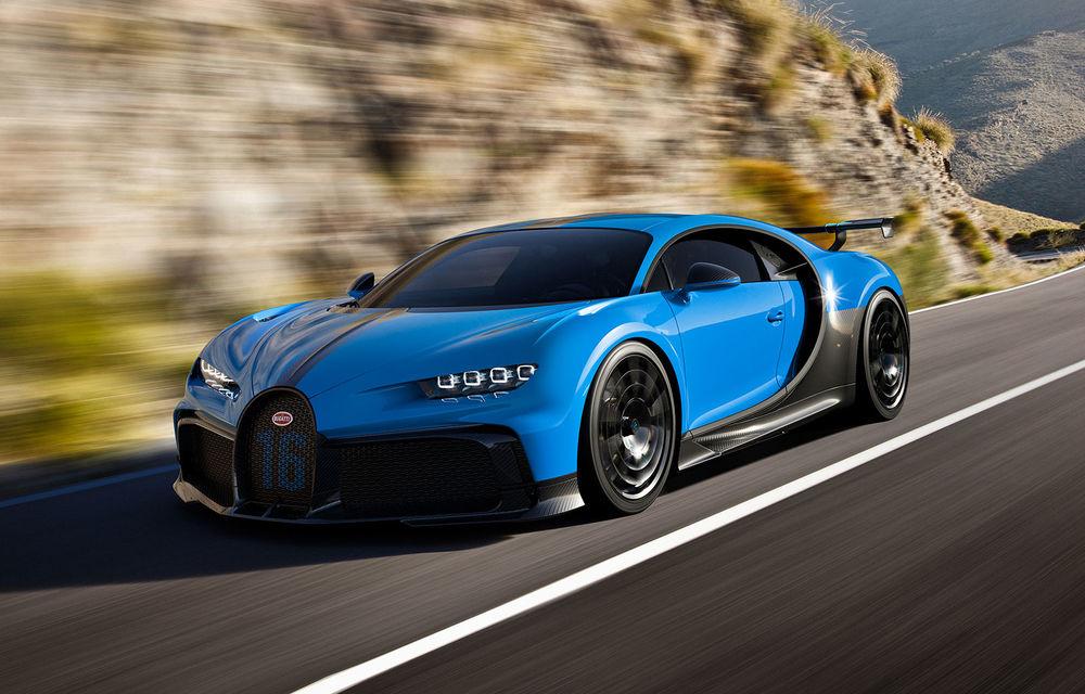Bugatti a lansat noul Chiron Pur Sport:  versiunea propune suspensii mai rigide și un comportament dinamic îmbunătățit - Poza 1