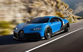 Bugatti a lansat noul Chiron Pur Sport:  versiunea propune suspensii mai rigide și un comportament dinamic îmbunătățit