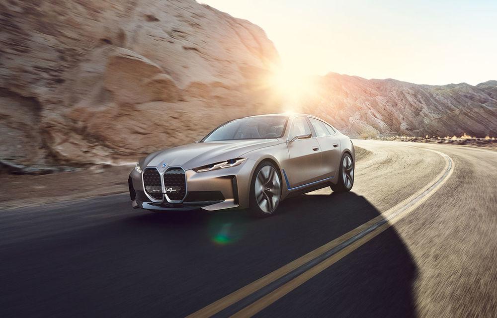 Sunetul viitoarelor modele electrice din gama BMW, semnat de un compozitor de Oscar: Concept i4, primul vehicul care integrează sistemul IconicSounds Electric - Poza 1