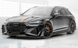 Tuning semnat de Mansory: 720 CP și 1.000 Nm pentru noul Audi RS6 Avant