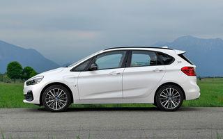 Video. Viitorul BMW Seria 2 Active Tourer, surprins în timpul testelor: noua generație ar putea fi lansată la finalul anului