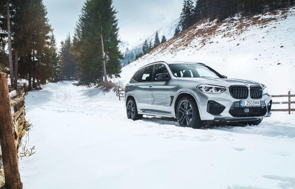Test drive BMW X3 M