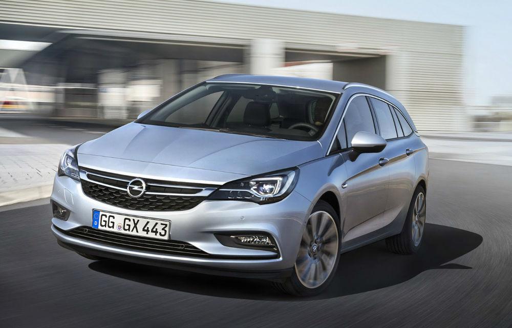 PSA va reduce producția în Marea Britanie: vânzări slabe pentru modelul Astra Sports Tourer - Poza 1