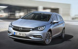 PSA va reduce producția în Marea Britanie: vânzări slabe pentru modelul Astra Sports Tourer
