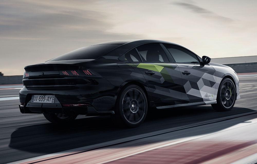 Peugeot a publicat imagini noi cu 508 Sport Engineered: sportiva va avea sistem plug-in hybrid de 360 de cai putere - Poza 4