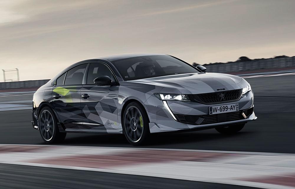 Peugeot a publicat imagini noi cu 508 Sport Engineered: sportiva va avea sistem plug-in hybrid de 360 de cai putere - Poza 1