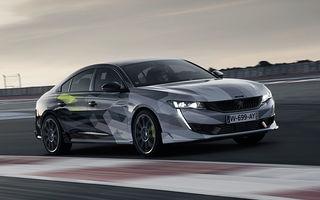 Peugeot a publicat imagini noi cu 508 Sport Engineered: sportiva va avea sistem plug-in hybrid de 360 de cai putere