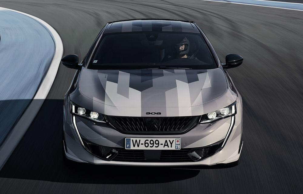Peugeot a publicat imagini noi cu 508 Sport Engineered: sportiva va avea sistem plug-in hybrid de 360 de cai putere - Poza 3