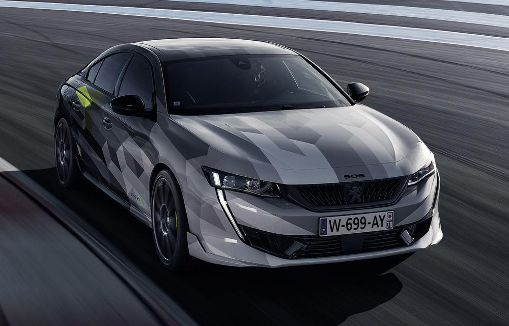 Peugeot a publicat imagini noi cu 508 Sport Engineered: sportiva va avea sistem plug-in hybrid de 360 de cai putere - Poza 2