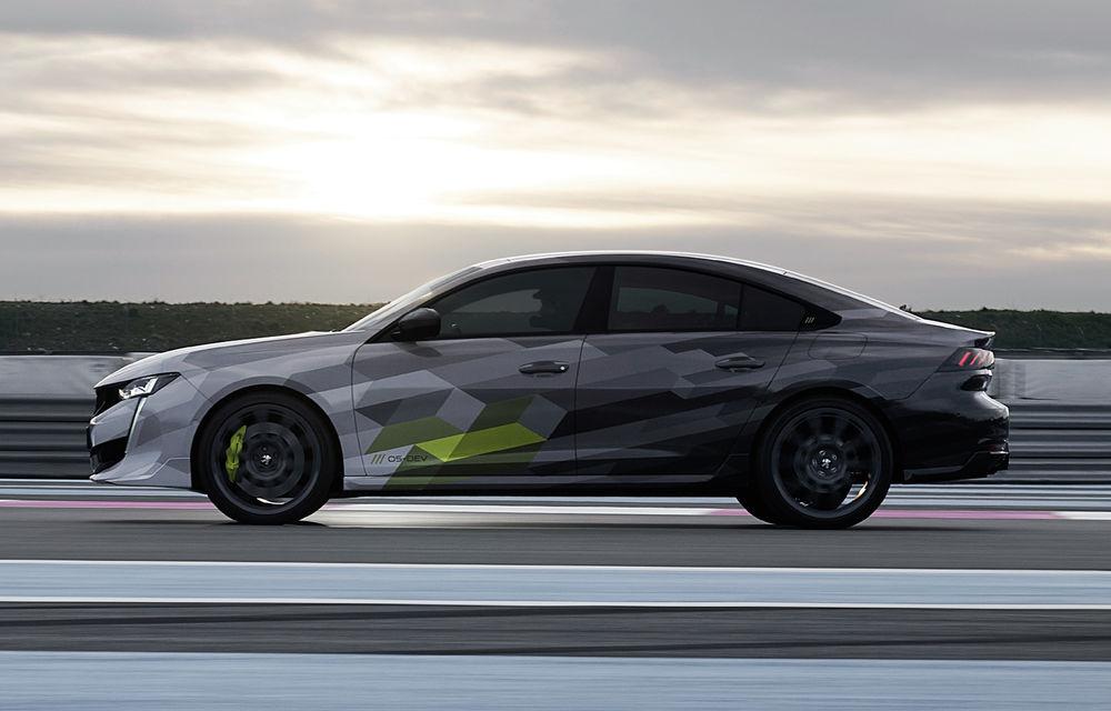 Peugeot a publicat imagini noi cu 508 Sport Engineered: sportiva va avea sistem plug-in hybrid de 360 de cai putere - Poza 5