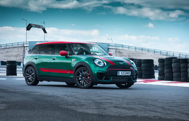 Test drive MINI John Cooper Works Clubman facelift