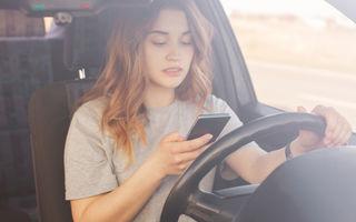 Codul Rutier a fost modificat din nou: șoferii nu vor mai fi amendați dacă țin telefonul în mână în timpul mersului