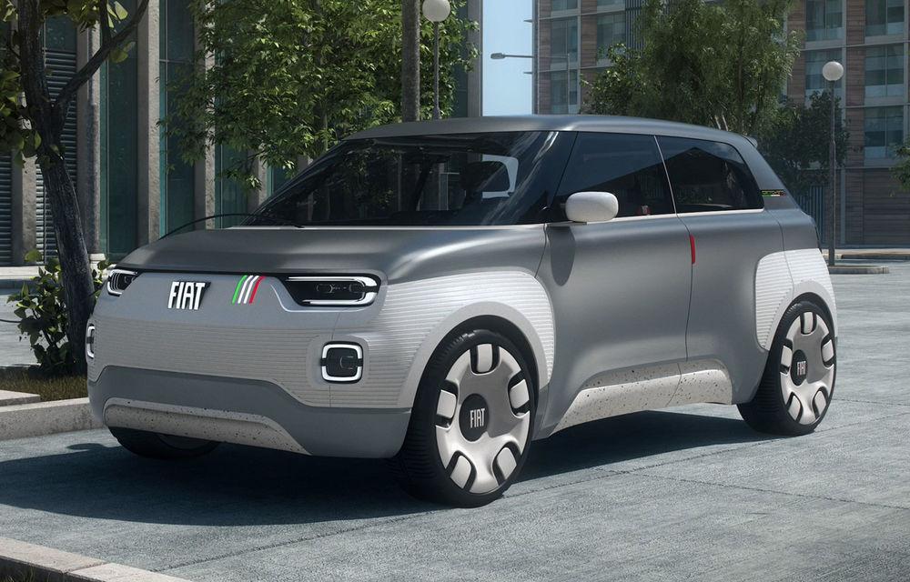 Conceptul Fiat Centoventi va primi versiune de serie: model electric de oraș inspirat din Panda - Poza 1