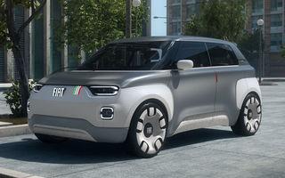 Conceptul Fiat Centoventi va primi versiune de serie: model electric de oraș inspirat din Panda