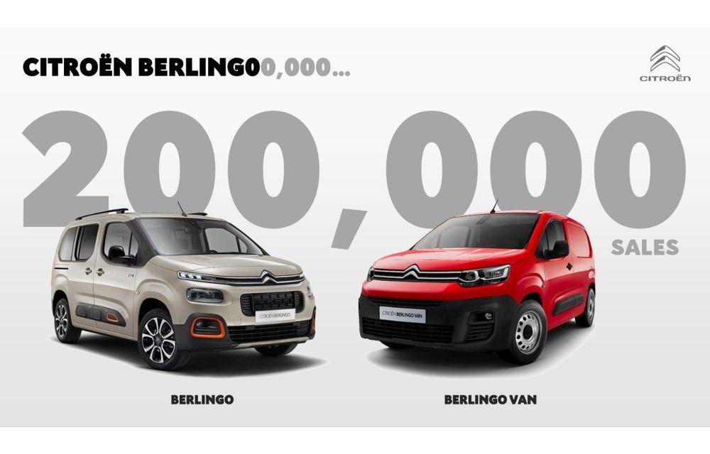 Citroen a vândut 200.000 de unități Berlingo: noua generație a fost lansată în septembrie 2018 - Poza 1