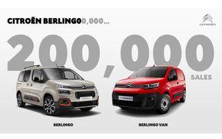 Citroen a vândut 200.000 de unități Berlingo: noua generație a fost lansată în septembrie 2018