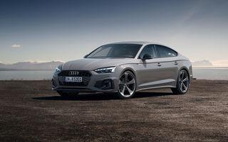 Prețuri pentru Audi A5 Sportback facelift: start de la aproape 44.000 de euro