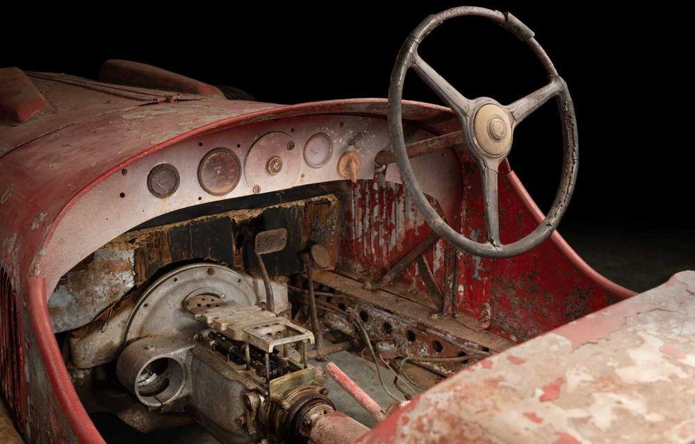 Un exemplar Alfa Romeo 6C 1750 din 1930 care i-a aparținut lui Benito Mussolini va fi restaurat - Poza 4