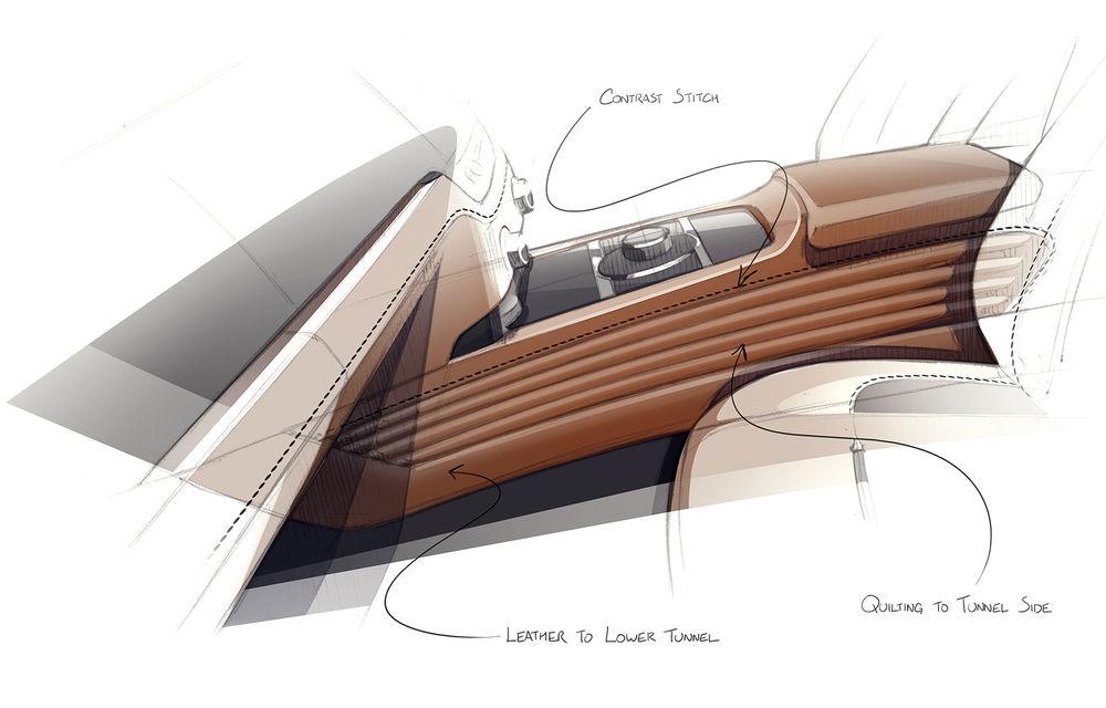 Primele teasere cu viitorul Rolls-Royce Dawn Silver Bullet: design inspirat de modelele roadster ale anilor '20 - Poza 4