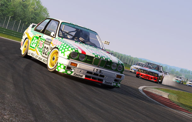 Noul sezon al competiției de sim racing Racing League România începe duminică: peste 70 de concurenți vor lupta pentru victorie cu BMW M3 E30 DTM - Poza 14