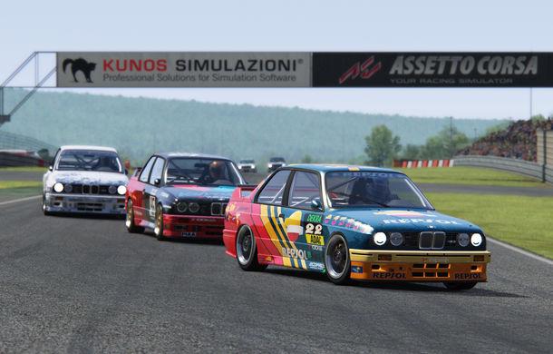Noul sezon al competiției de sim racing Racing League România începe duminică: peste 70 de concurenți vor lupta pentru victorie cu BMW M3 E30 DTM - Poza 4