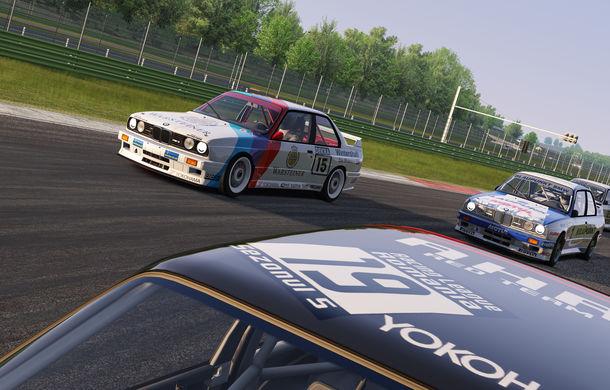 Noul sezon al competiției de sim racing Racing League România începe duminică: peste 70 de concurenți vor lupta pentru victorie cu BMW M3 E30 DTM - Poza 15