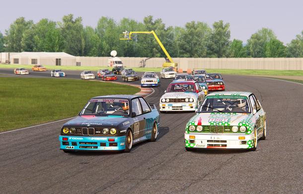 Noul sezon al competiției de sim racing Racing League România începe duminică: peste 70 de concurenți vor lupta pentru victorie cu BMW M3 E30 DTM - Poza 11