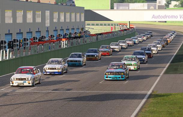 Noul sezon al competiției de sim racing Racing League România începe duminică: peste 70 de concurenți vor lupta pentru victorie cu BMW M3 E30 DTM - Poza 1