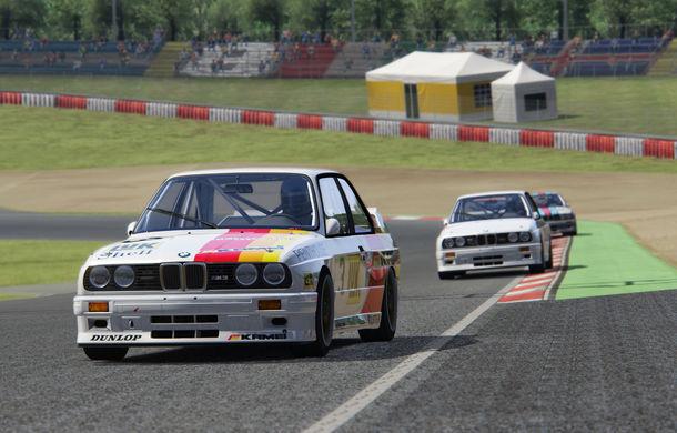 Noul sezon al competiției de sim racing Racing League România începe duminică: peste 70 de concurenți vor lupta pentru victorie cu BMW M3 E30 DTM - Poza 7