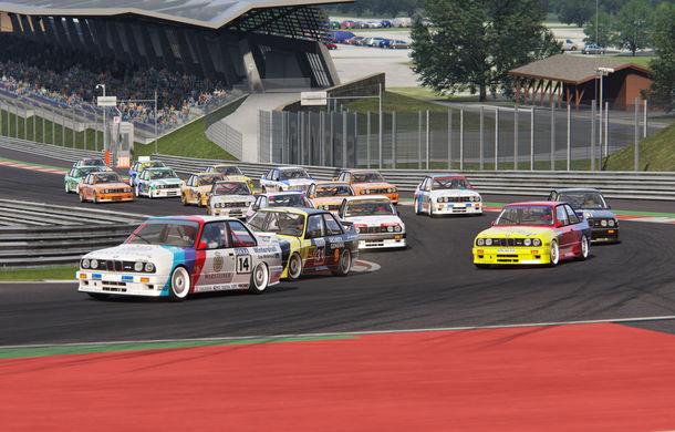 Noul sezon al competiției de sim racing Racing League România începe duminică: peste 70 de concurenți vor lupta pentru victorie cu BMW M3 E30 DTM - Poza 3