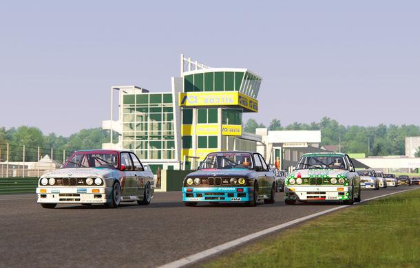 Noul sezon al competiției de sim racing Racing League România începe duminică: peste 70 de concurenți vor lupta pentru victorie cu BMW M3 E30 DTM - Poza 5