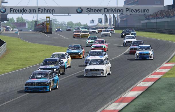 Noul sezon al competiției de sim racing Racing League România începe duminică: peste 70 de concurenți vor lupta pentru victorie cu BMW M3 E30 DTM - Poza 2