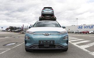 Hyundai a livrat clienților europeni primele unități Kona Electric produse în Cehia: producția este estimată la 30.000 de unități pe an