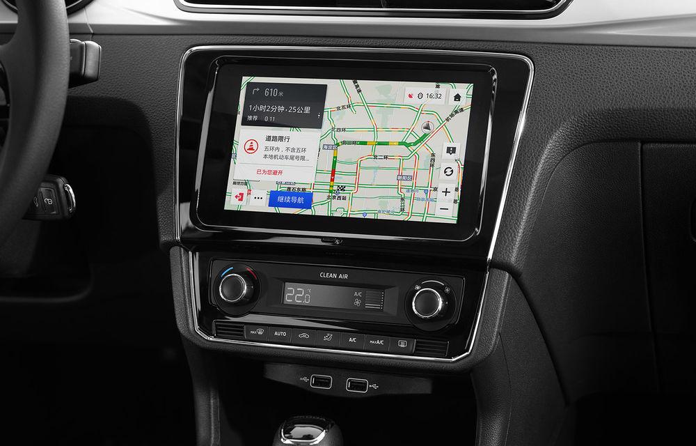 Skoda Rapid și Rapid Spaceback primesc îmbunătățiri pentru piața din China: design inspirat de Scala și sistem de infotainment cu ecran tactil de 8 inch - Poza 4