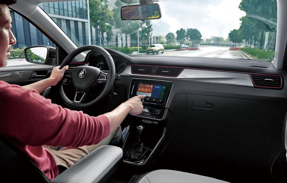 Skoda Rapid și Rapid Spaceback primesc îmbunătățiri pentru piața din China: design inspirat de Scala și sistem de infotainment cu ecran tactil de 8 inch - Poza 3