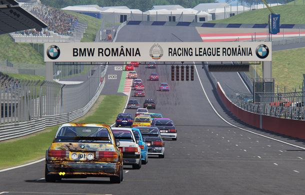 Spectacol în prima etapă de sim racing a competiției Racing League România: peste 11.000 de fani au urmărit cursele de duminică - Poza 3
