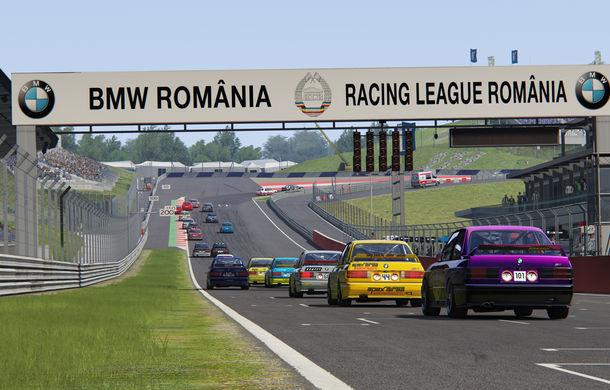 Spectacol în prima etapă de sim racing a competiției Racing League România: peste 11.000 de fani au urmărit cursele de duminică - Poza 4