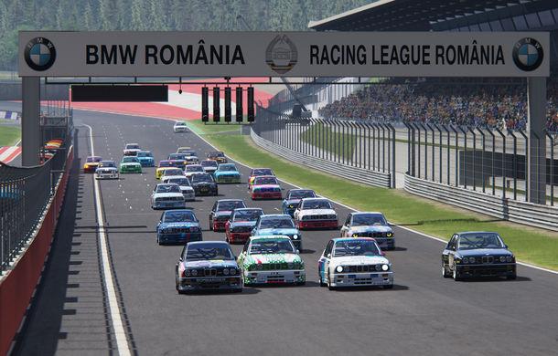 Spectacol în prima etapă de sim racing a competiției Racing League România: peste 11.000 de fani au urmărit cursele de duminică - Poza 1